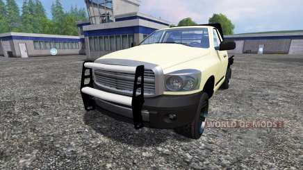PickUp Singlecab Flatbed for Farming Simulator 2015