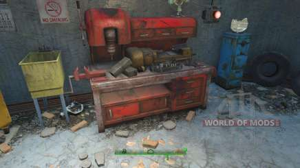 Cheat on the materials for crafting for Fallout 4