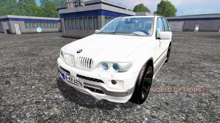 BMW X5 for Farming Simulator 2015
