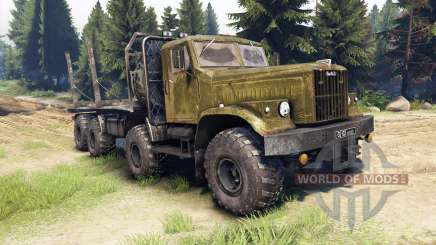KrAZ-256 8x8 Custom for Spin Tires