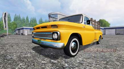 Chevrolet C10 Fleetside 1966 for Farming Simulator 2015