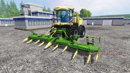 Krone Big X 580 v1.1 for Farming Simulator 2015