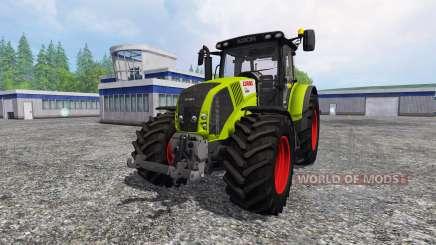 CLAAS Axion 850 v3.0 for Farming Simulator 2015