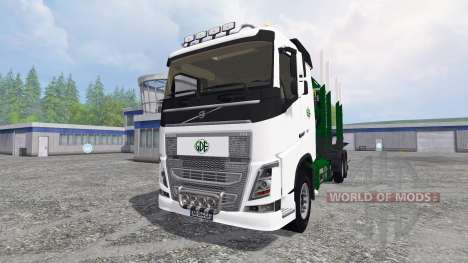Volvo FH16 [timber carrier] for Farming Simulator 2015