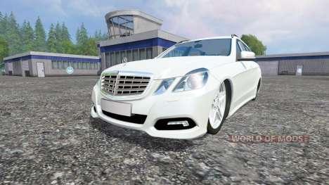 Mercedes-Benz E350 [beta] for Farming Simulator 2015