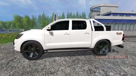 Toyota Hilux [city version] for Farming Simulator 2015