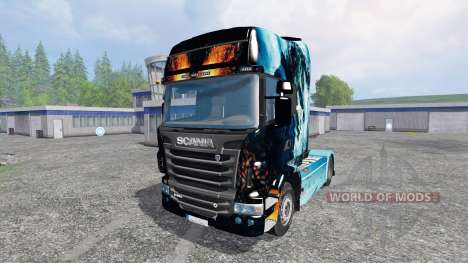 Scania R560 [power] for Farming Simulator 2015