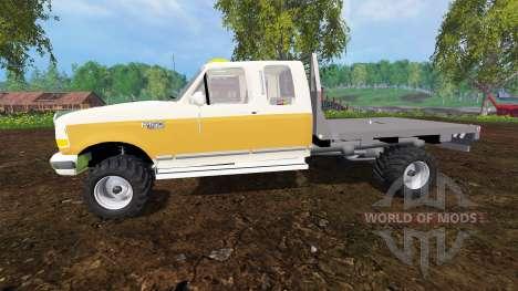 Ford F-150 XL 1992 [flatbed] for Farming Simulator 2015