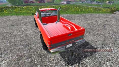 Dodge Ram 2500 2001 for Farming Simulator 2015