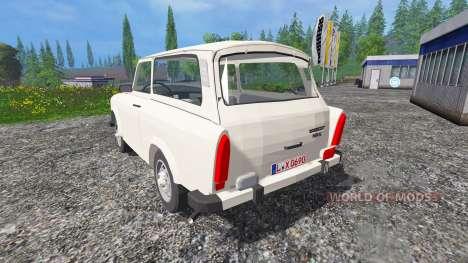 Trabant 601 S v0.5 for Farming Simulator 2015