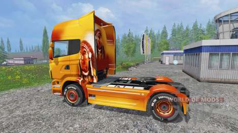 Scania R560 [sitting bull] for Farming Simulator 2015