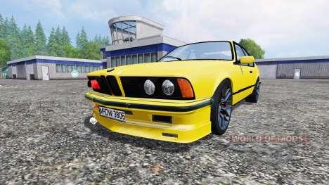 BMW M635CSi (E24) v1.0 for Farming Simulator 2015