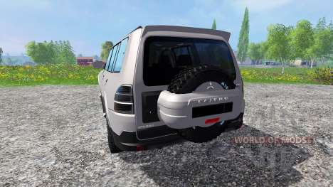 Mitsubishi Pajero IV for Farming Simulator 2015