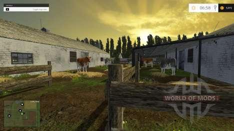 The Village Of Novotroitsk for Farming Simulator 2015