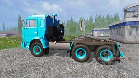 KamAZ-54112 v2.0 for Farming Simulator 2015