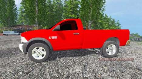 Dodge Ram 2500 2010 for Farming Simulator 2015