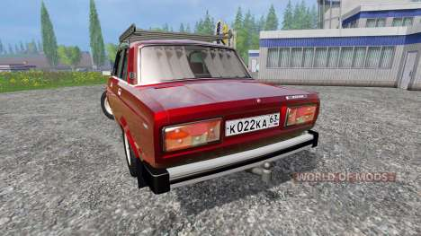 The VAZ-2105 for Farming Simulator 2015