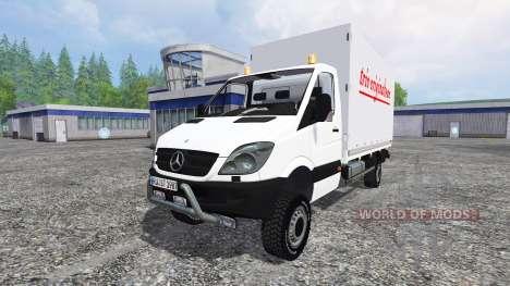 Mercedes-Benz Sprinter v1.1 for Farming Simulator 2015