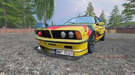 BMW M635CSi (E24) v2.0 for Farming Simulator 2015
