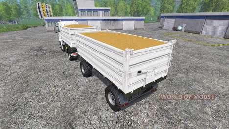MAN TGS 18.440 [brantneraufbau] v2.0 for Farming Simulator 2015