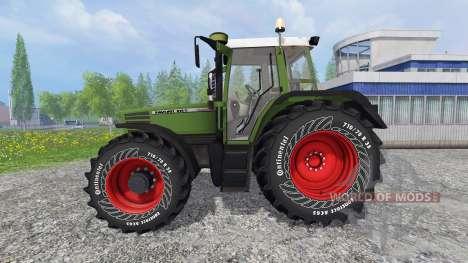 Fendt Favorit 515C v0.9 for Farming Simulator 2015