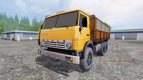 KamAZ-55102 v1.2 for Farming Simulator 2015