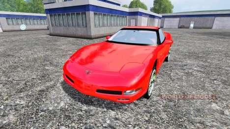Chevrolet Corvette C5 for Farming Simulator 2015