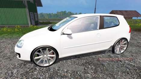 Volkswagen Golf GTI for Farming Simulator 2015
