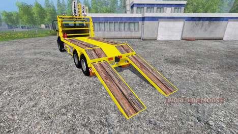 Mercedes-Benz Unimog [cartransporter] for Farming Simulator 2015