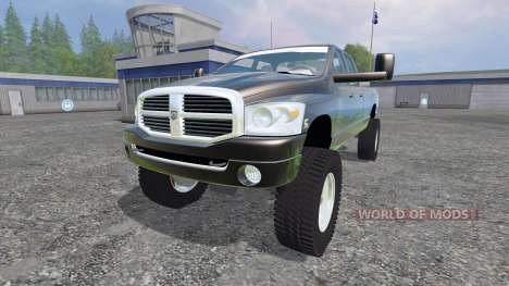 Dodge Ram 3500 2007 [wide stance] v1.2 for Farming Simulator 2015