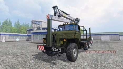 Ural-4320 [timber] for Farming Simulator 2015