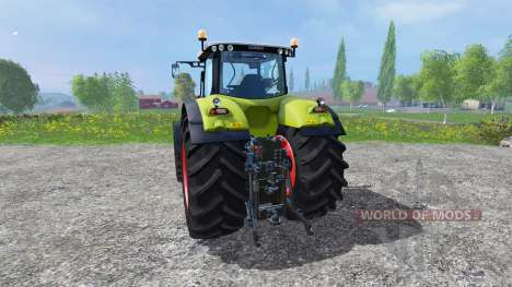 CLAAS Axion 850 v1.2 for Farming Simulator 2015