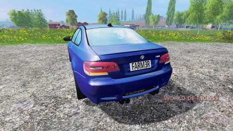 BMW M3 (E92) v3.0 for Farming Simulator 2015