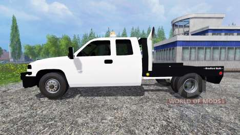 Chevrolet Silverado Flatbed v2.0 for Farming Simulator 2015