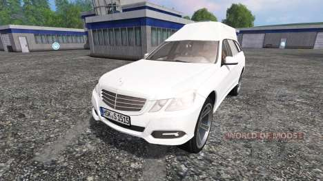 Mercedes-Benz E350 CDI Estate [hearse] for Farming Simulator 2015
