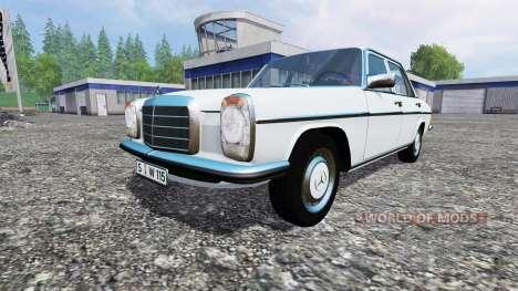 Mercedes-Benz 200D (W115) 1973 v1.1 for Farming Simulator 2015