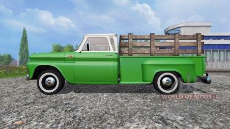 Chevrolet C10 Fleetside 1966 v1.1 for Farming Simulator 2015
