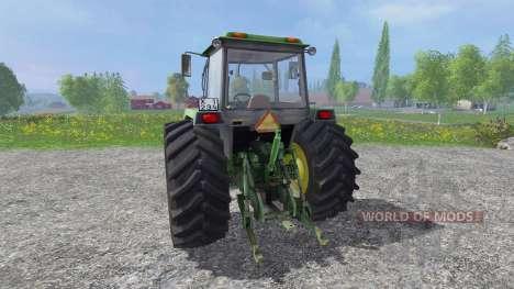 John Deere 4755 v3.0 for Farming Simulator 2015