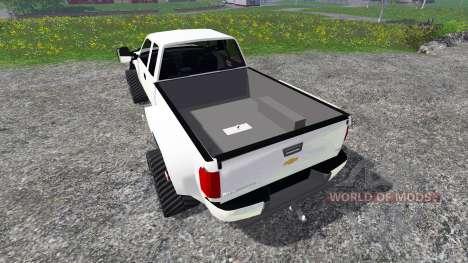 Chevrolet Silverado [tracked] for Farming Simulator 2015