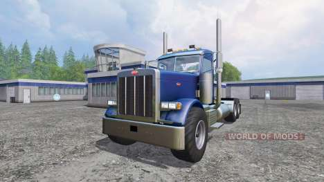 Peterbilt 379 [daycab truck] for Farming Simulator 2015