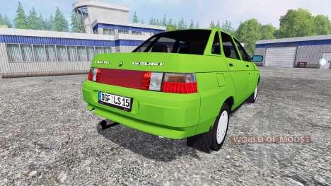 VAZ-2110 (Lada 110) for Farming Simulator 2015