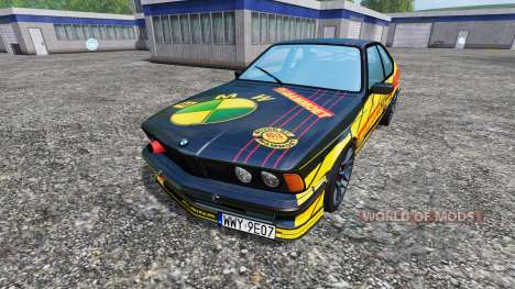 BMW M635CSi (E24) [Mammoet Auto Sport] for Farming Simulator 2015