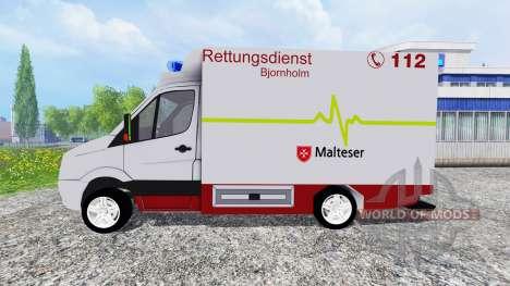 Volkswagen Crafter EMS for Farming Simulator 2015