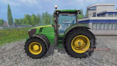 John Deere 7280R v4.0 for Farming Simulator 2015