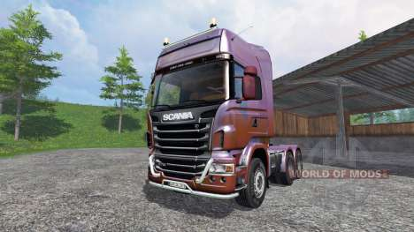 Scania R730 [Topline] v5.0 for Farming Simulator 2015