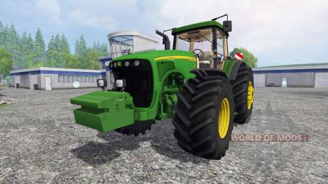 John Deere 8520 v2.5 for Farming Simulator 2015