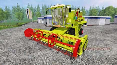 CLAAS Dominator 105 for Farming Simulator 2015