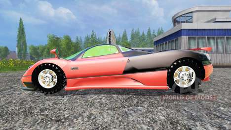 Pagani Zonda v1.2 for Farming Simulator 2015