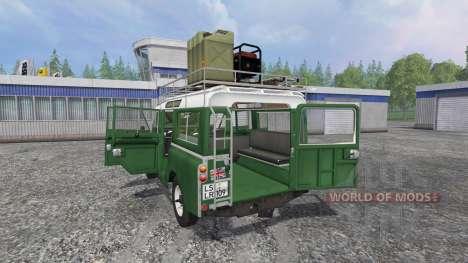 Land Rover Series IIa Station Wagon v1.2 for Farming Simulator 2015