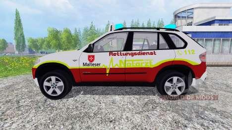 BMW X5 NEF for Farming Simulator 2015